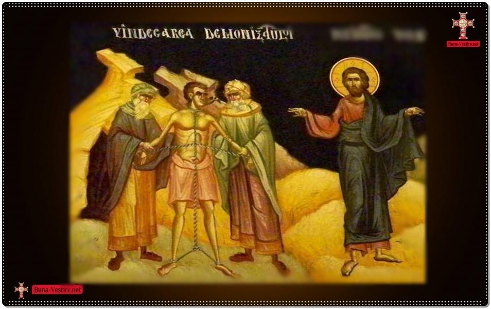 Chipul omului îndrăcit de patimi şi chipul omului pătruns de Duhul Sfânt