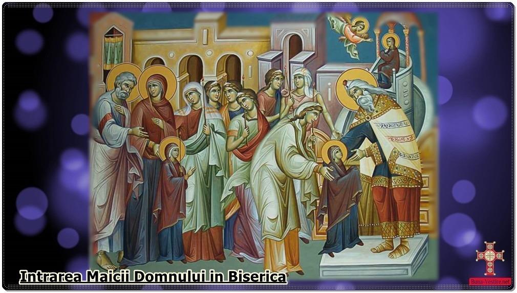Nimic aranjat!-Intrarea in Biserica a Maicii Domnului