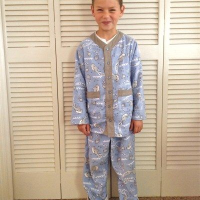 Oliver+S Sleepover Pajamas and Measurements