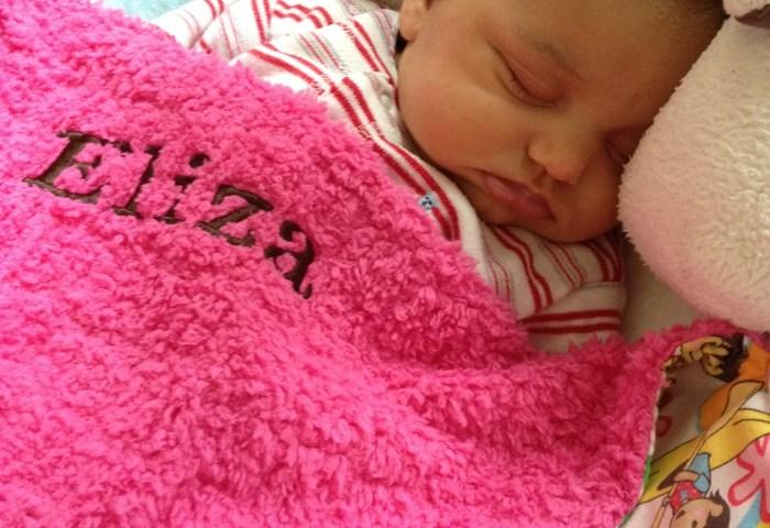 Minky Baby Blanket Tutorial – part 3 (finishing)