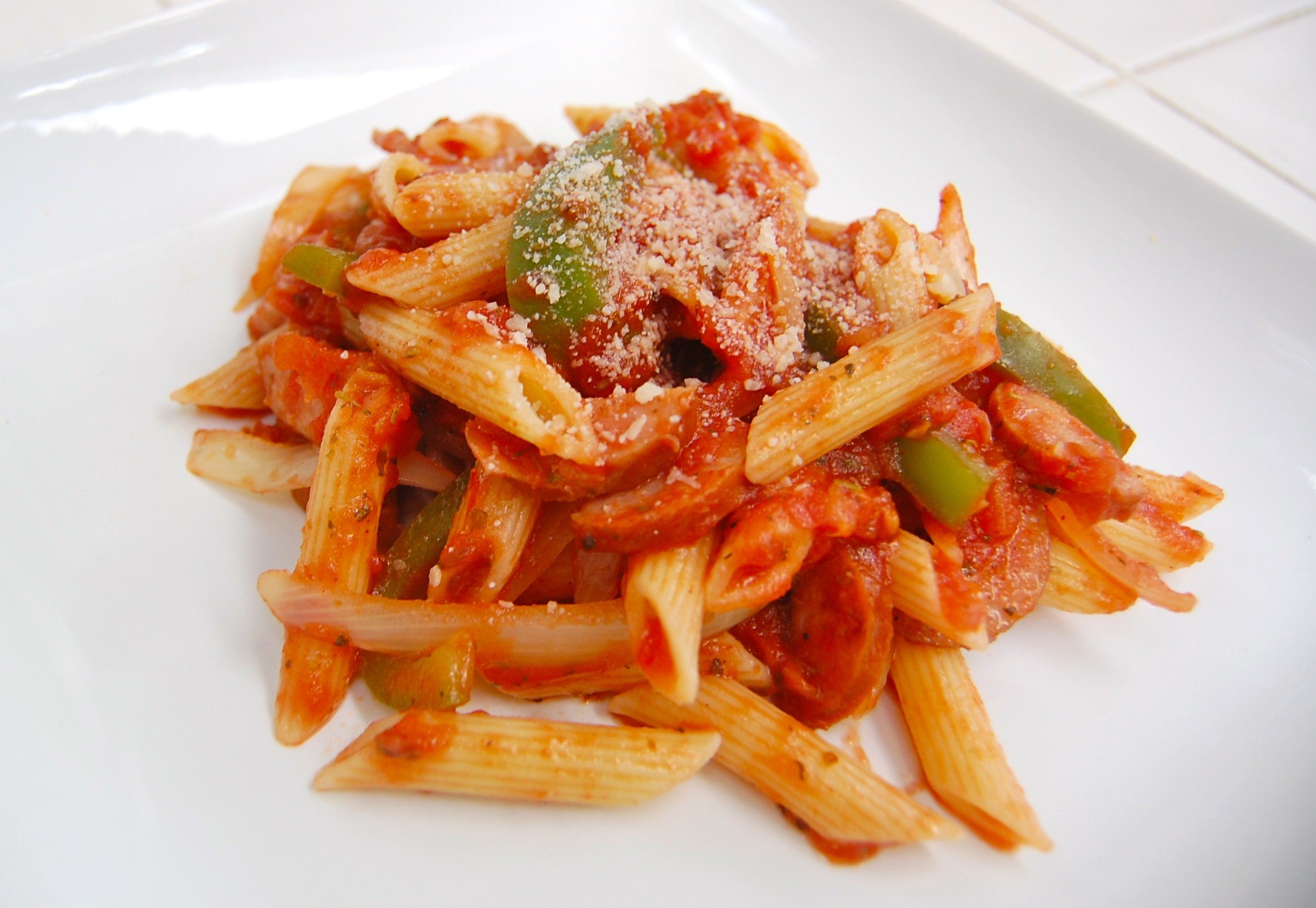 sausage peppers rustica