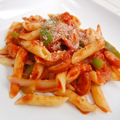 Sausage and Peppers Rustica