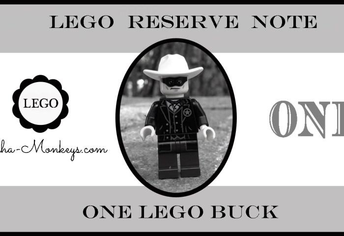 Lego play money