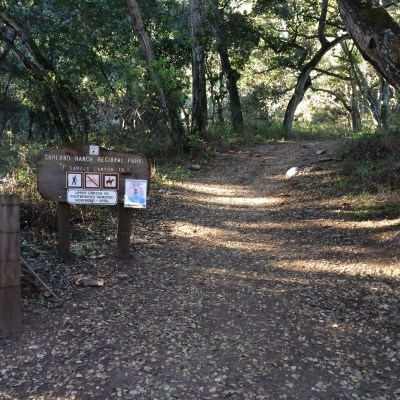 Garland Ranch – Garzas Canyon/Redwood Canyon/Terrace Trail
