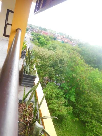 di liat dari lantai 5, pemandangan indah plus serem kalo malem hari