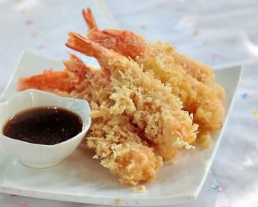 Resep udang goreng tempura