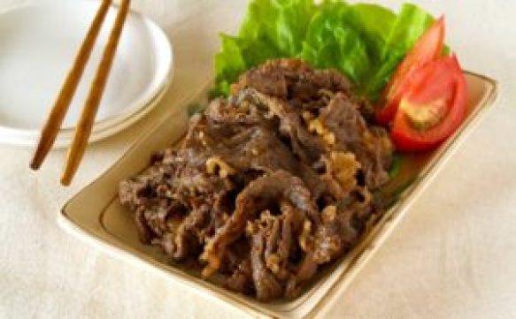 Resep Daging Sapi Yakiniku / Beef Yakiniku