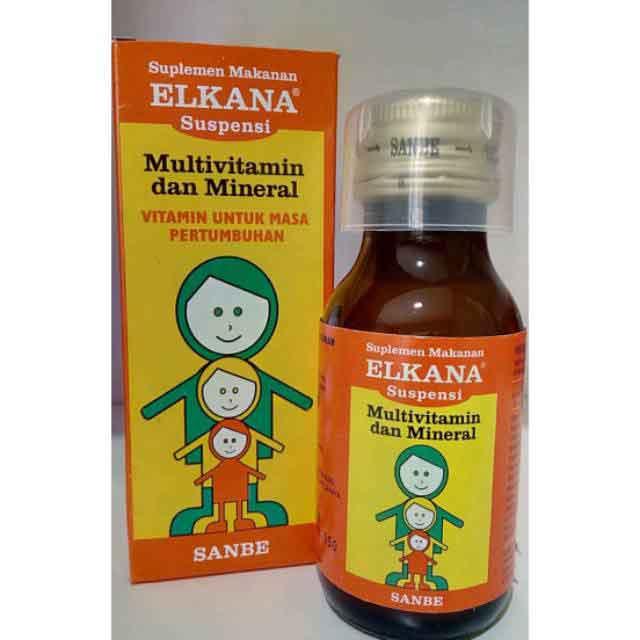 vitamin penambah nafsu makan elkanan sirup