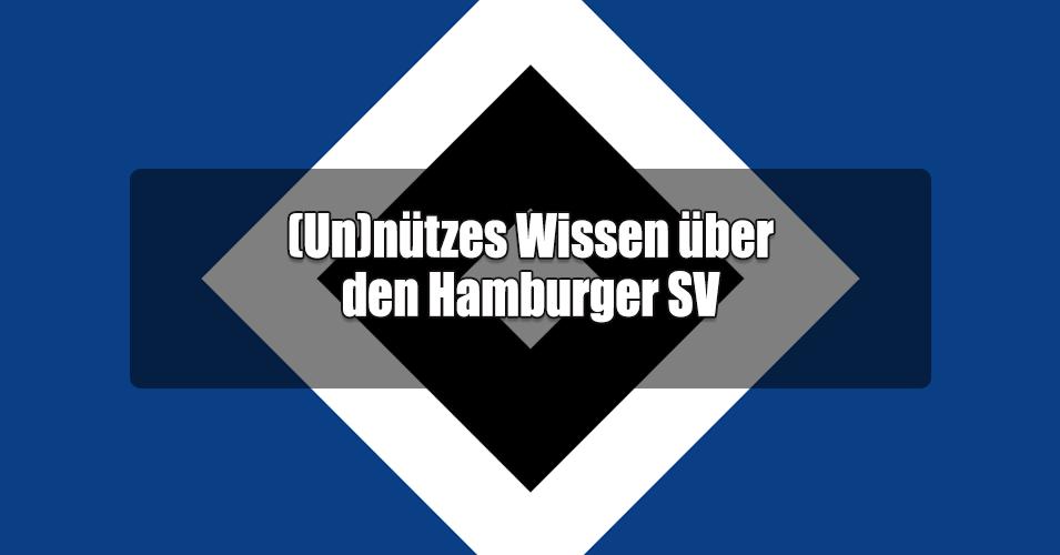 un nutzes wissen uber den hamburger sv