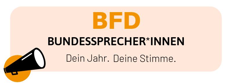 Bundessprecher*innen des BFD 2020