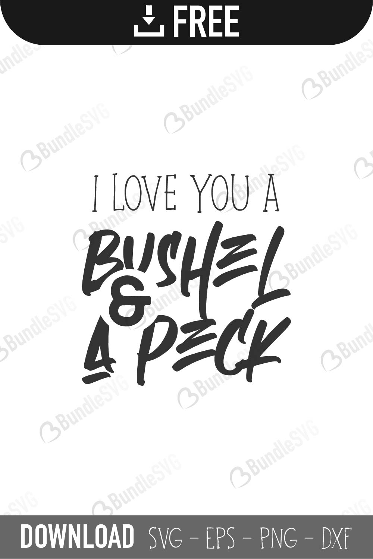 Download Bushel and Peck SVG Cut Files Free Download | BundleSVG