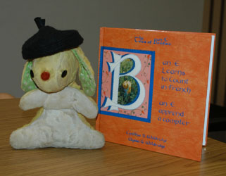 Kids learn French with Bun E. Boniface® www.bunetales.com