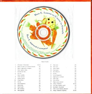 Bun E Learns to Count in French (Bun E apprend a compter) audio CD