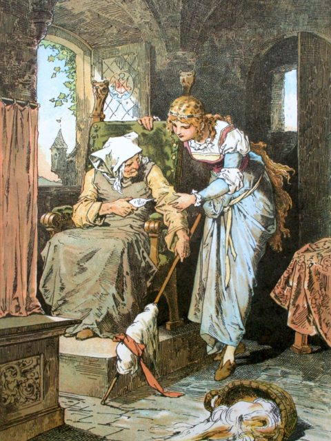 The tale of Sleeping Beauty by Charles Perrault is one of the French Fairy Tales used in a course for children created and taught by Cynthia Wildridge bunetales.com