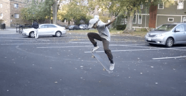 Skateboarding in Boston