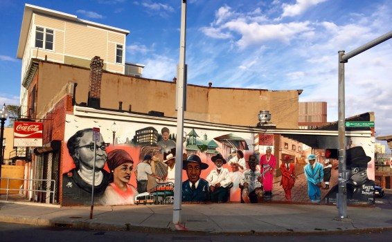 Faces of Dudley is located on Washington Street at Malcolm X Boulevard.