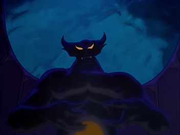 "Chernabog, the demon from ""A Night on Bald Mountain"" from Disney's ""Fantasia"" (Screen capture from Disney's ""Fantasia"")"