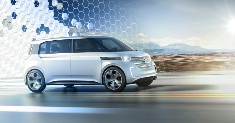 Volkswagen BUDD-e concept. Image courtesy of Volkswagen