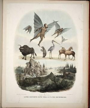 Vespertilio-homo, and other fantastical lunar-creatures
