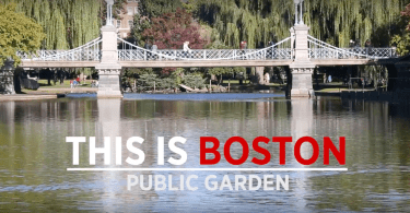 This is Boston - Public Garden