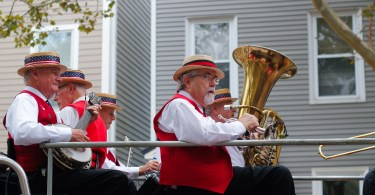 On Sunday, Oct. 7, the Columbus Day Parade took over the streets of East Boston. Photo by Flaviana Sandoval / BU News Service