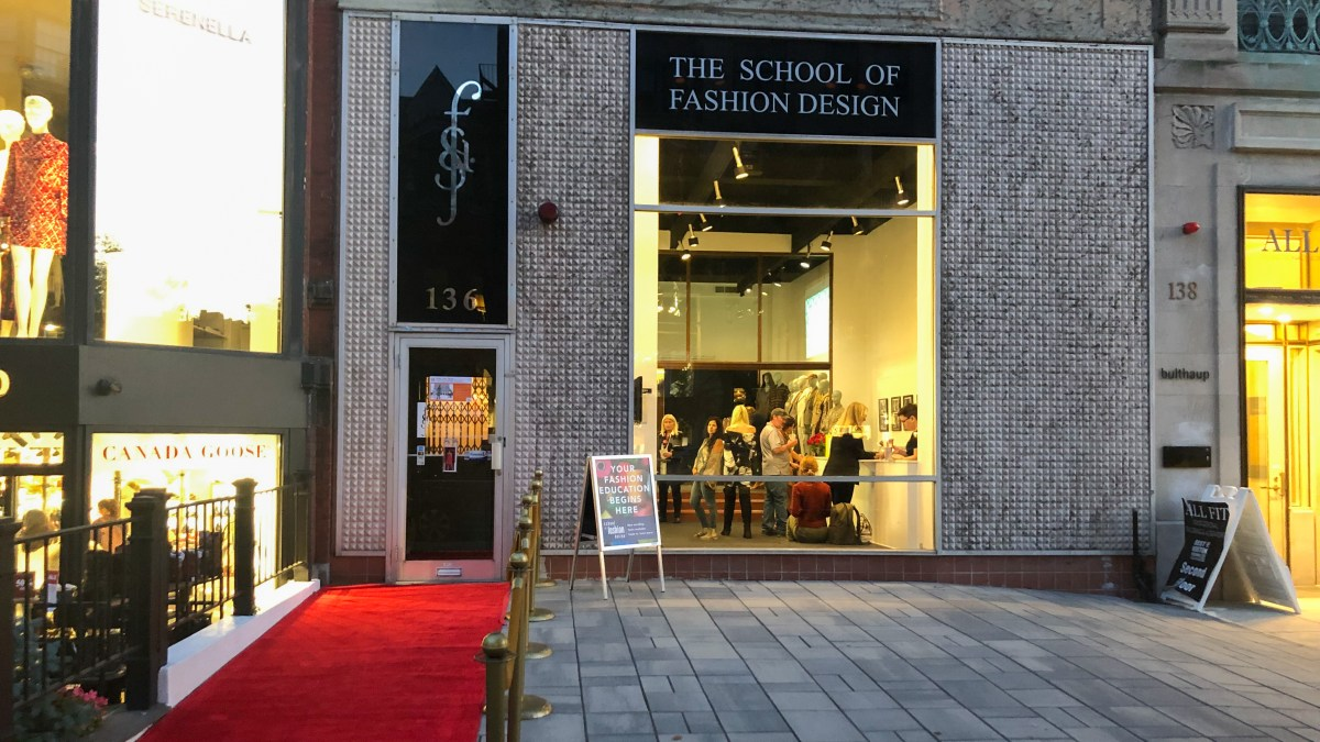 Newbury Street Landmark School Of Fashion Design Celebrates 85 Years Boston University News Service