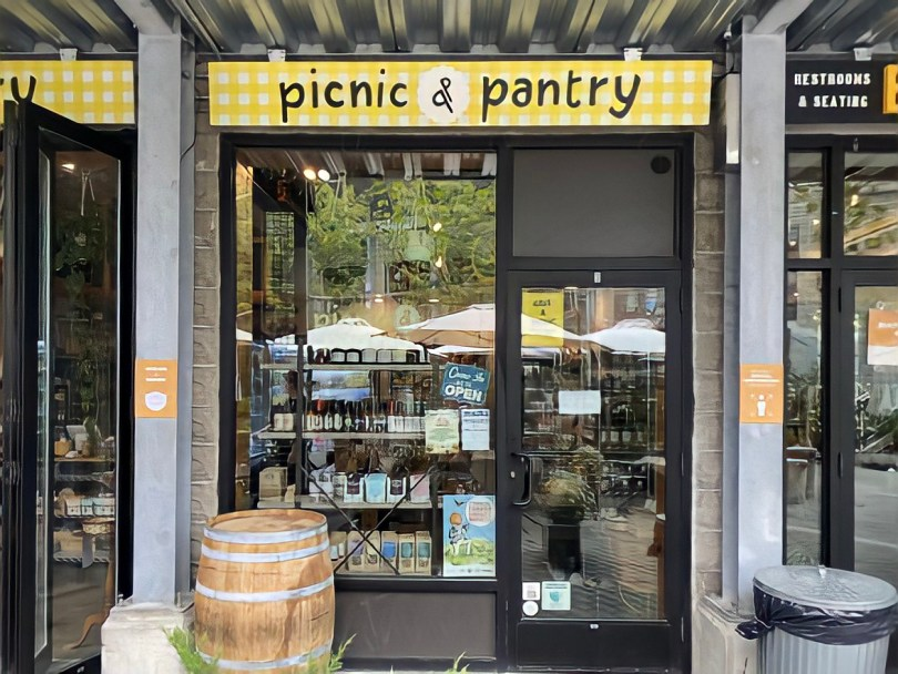 Picnic and Pantry in Bow Market in Somerville, MA.
