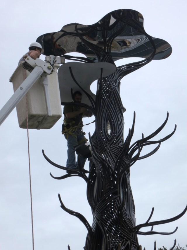 Hamerling See Art Tree Construction1