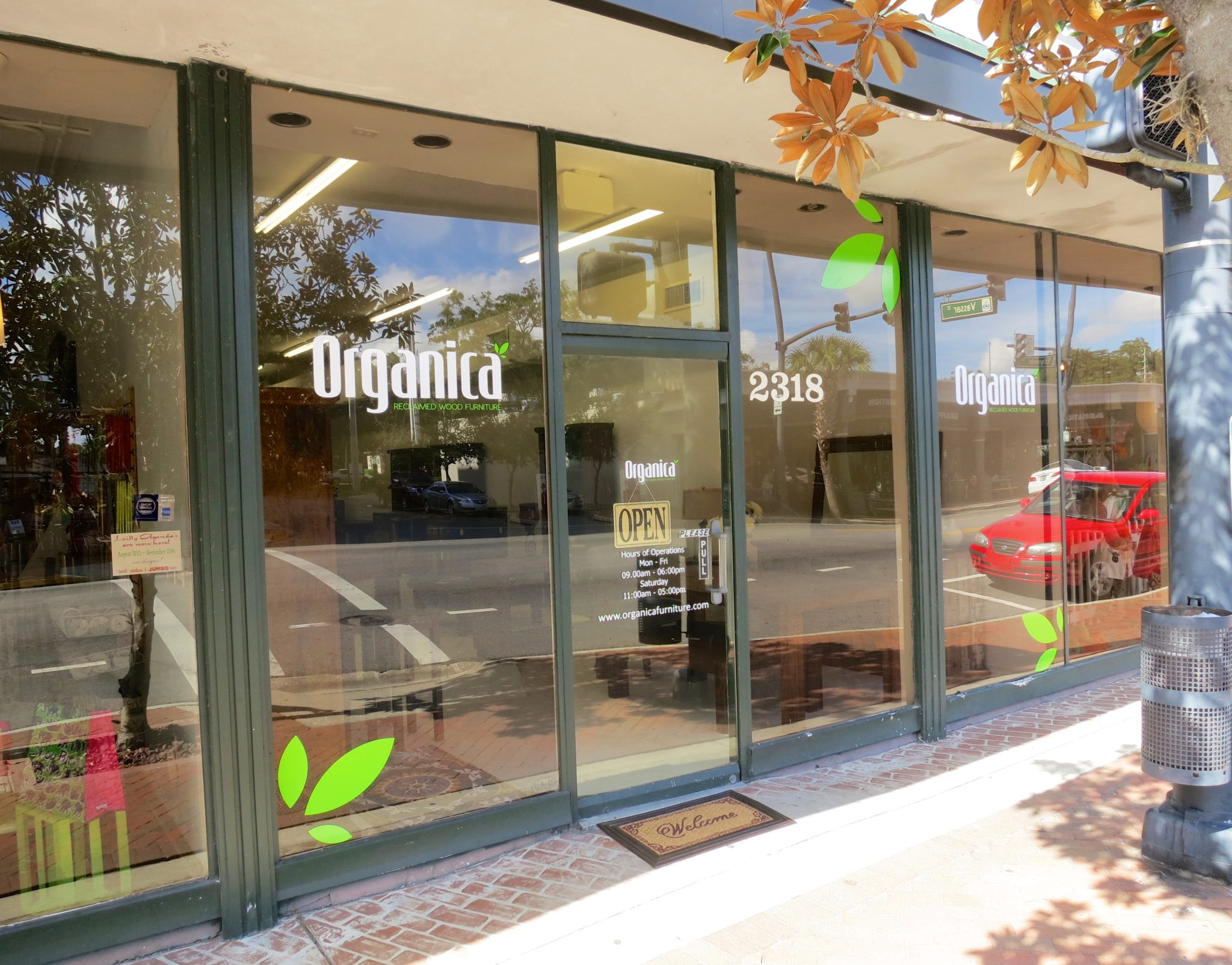 Reclaimed Wood Furniture Store Opens In College Park