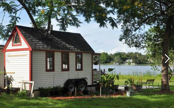 tiny house for rent near college park bungalower. Black Bedroom Furniture Sets. Home Design Ideas