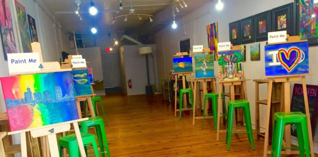 Paint Mix Art Studio Orlando