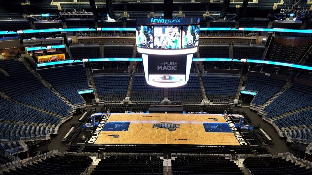 VIP tour of the Amway Center