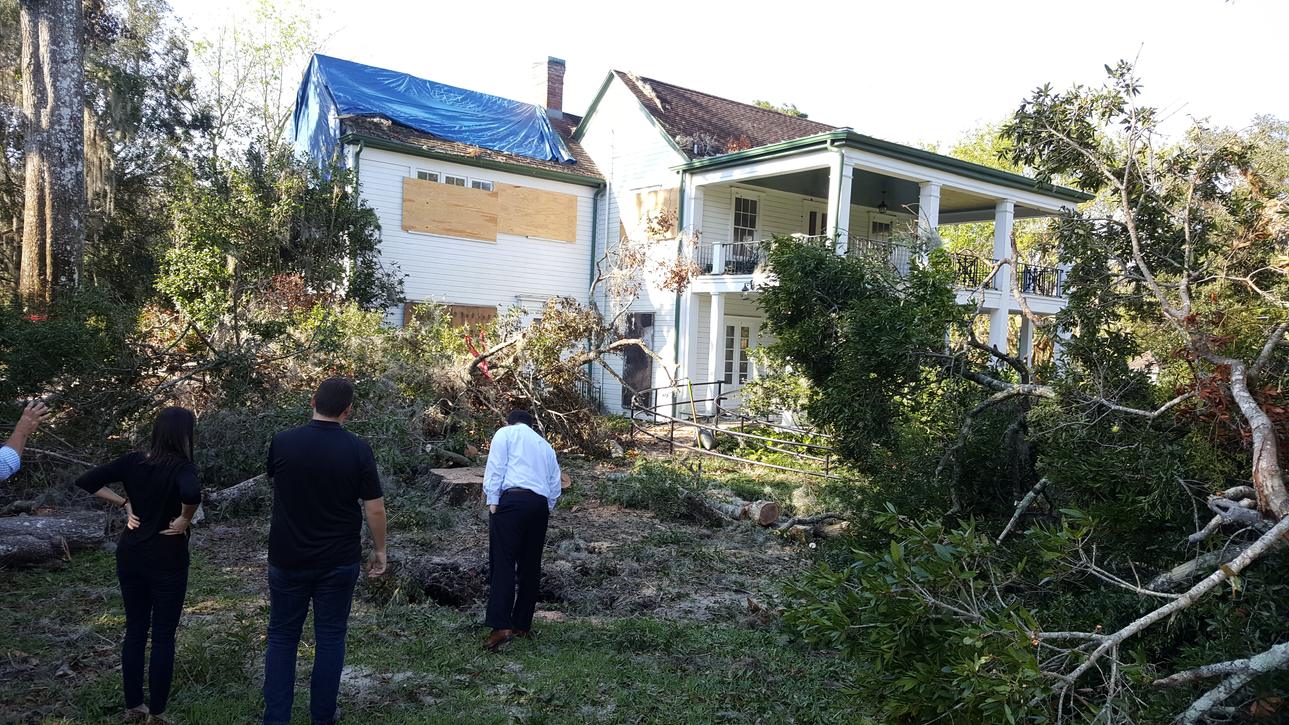 leu gardens hurricane cleanup well under way but could take