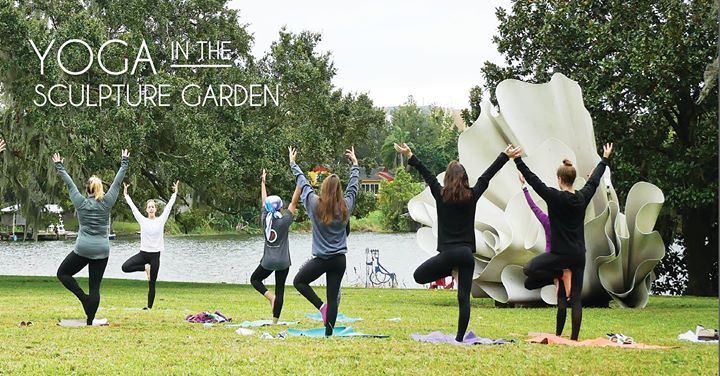 The Last Sunday Of Every Month Is Yoga In The Sculpture Garden At The  Mennello Museum! Start Your Sunday Morning Out Blissfully With A Relaxing  Lakeside ...