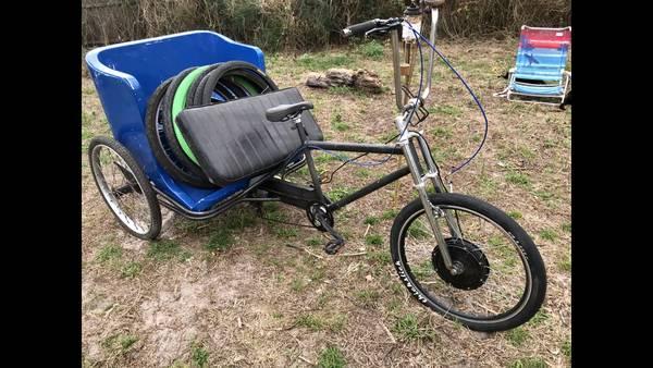 Pedicab for sale on Craigslist - bungalower