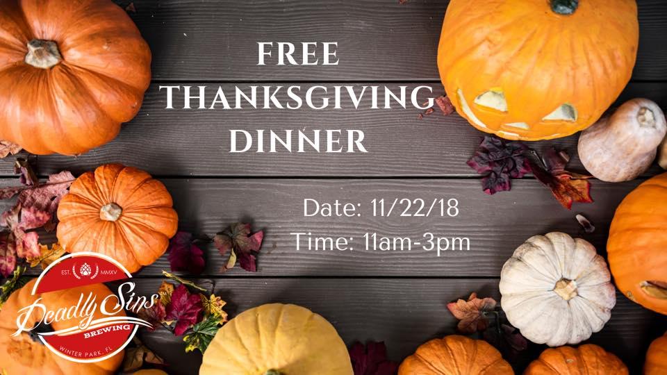 free thanksgiving dinner bungalower