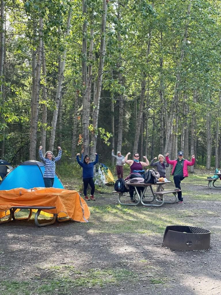 Campground Lake Eklutna