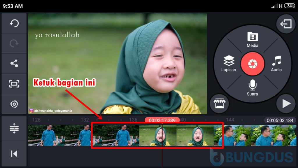 Cara Memotong Video di KineMaster Pro