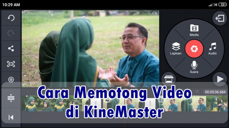 Cara Memotong Video di KineMaster