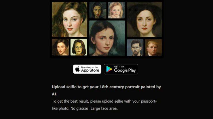 Portraitai App Download Aplikasi Edit Foto Jadi Lukisan