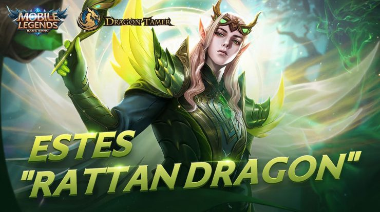 Skin Rattan Dragon Mobile Legends