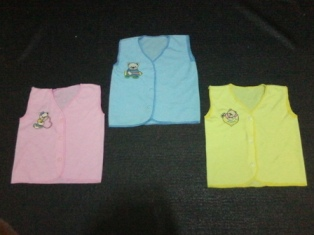 baju newborn kutung double knit PE
