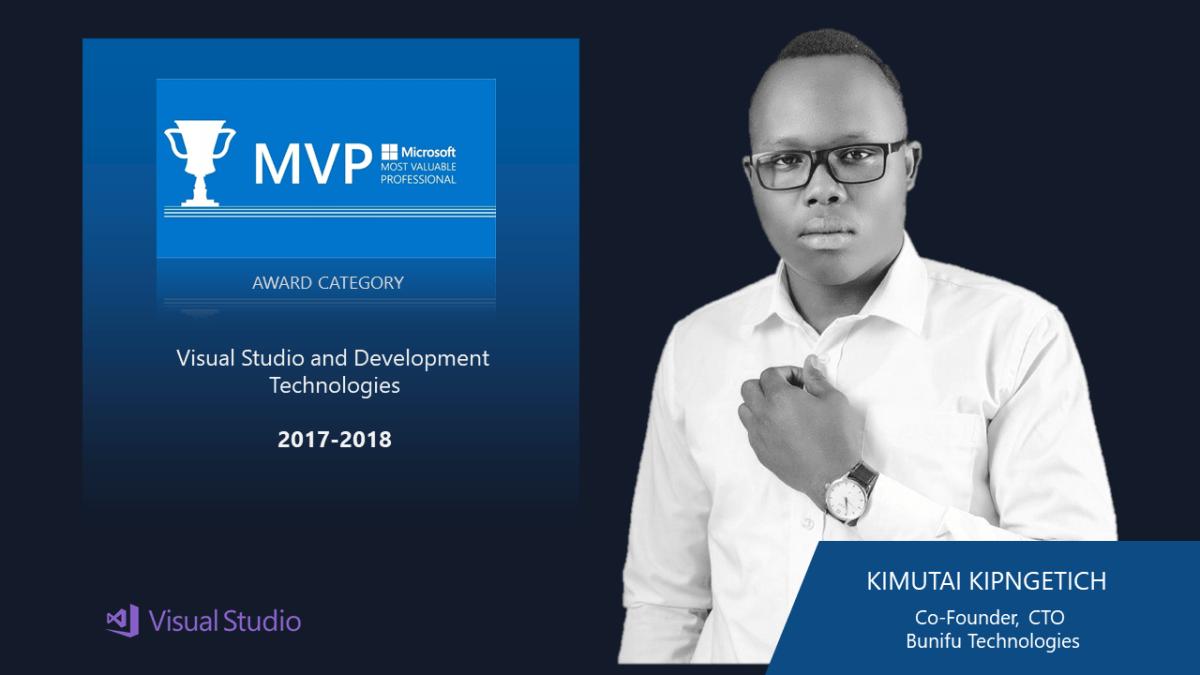 Bunifu CTO to attend Microsoft's MVP Global Summit – 2018