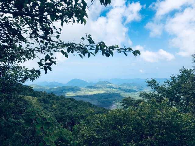 views from Pacaya Volcano hike