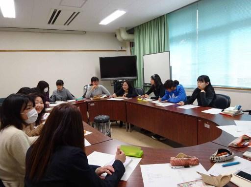 学科イベントの企画会議