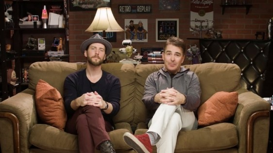 Troy Baker and Nolan North in Retro Replay