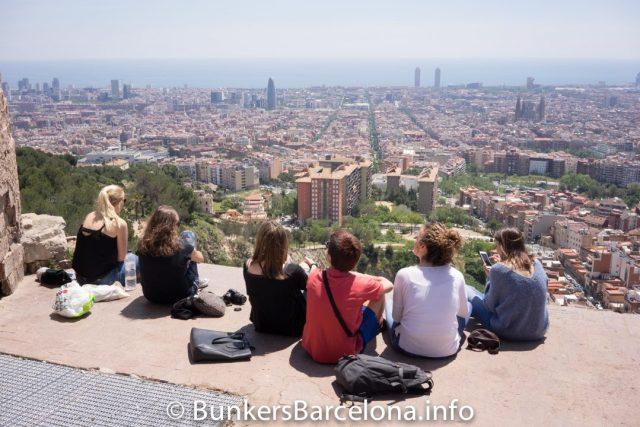 Top 5 Sights in Barcelona - Bunkers Barcelona