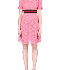 M-1(2017)上戸彩のピンクのドレスワンピースのブランドは?