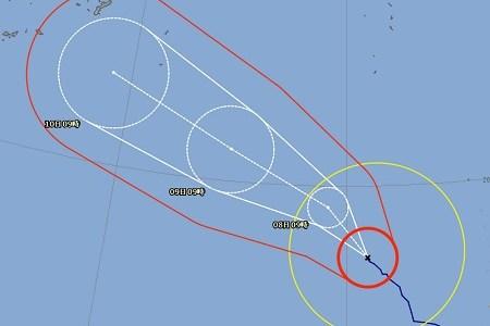 台風8号(2018)沖縄の最新進路予測情報!飛行機の離発着の影響は?