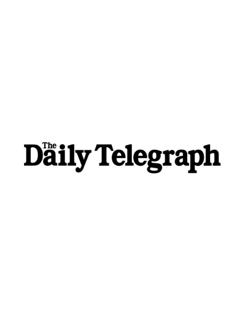 The Daily Telegraph black and white logo